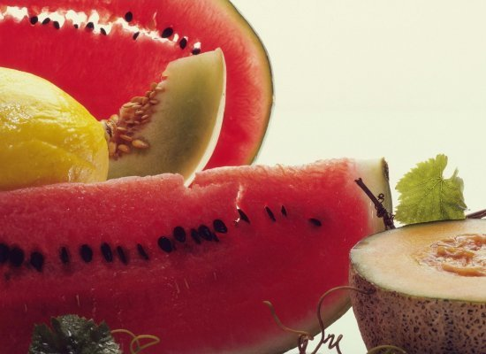 picture of melon - good for heartburn